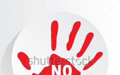 """ No drugs "" symbol."