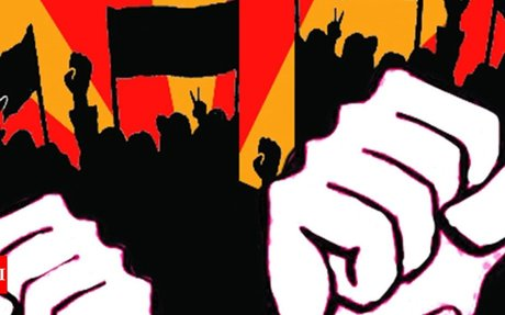 Silicosis-hit mine workers protest - Times of India