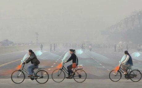 Smog-sucking bikes? This artist wants to make it happen.