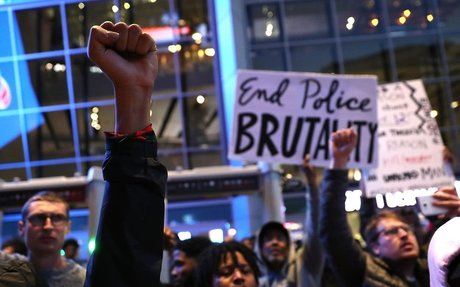 'Our city is hurting': Protesters swarm downtown Sacramento following deadly police shooti