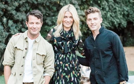Interior Designers Nate Berkus and Jeremiah Brent Host an Outdoor Party at Their Los Angel