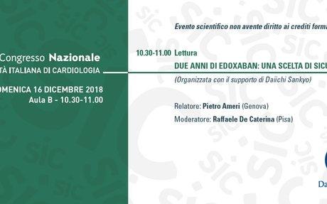Daiichi Sankyo Lixiana®: Primi dati relativi ai pazienti arruolati in Italia nell'ETNA AF