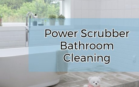 Best Battery Powered Bathroom Scrubbers Shower tub tile grout