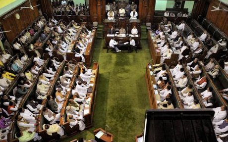 Bihar assembly faces disruption from BJP members over insult to PM Modi