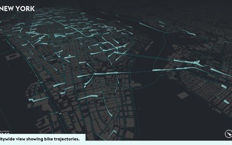 Mapping of bike sharing data will change the way you see these cities