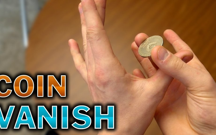 WORLD'S Easiest Coin Vanish - Tutorial
