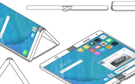 Motorola foldable phone concept opens up into a tablet