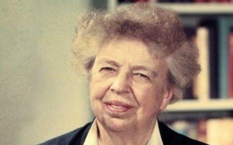 7) Eleanor Roosevelt - First Ladies