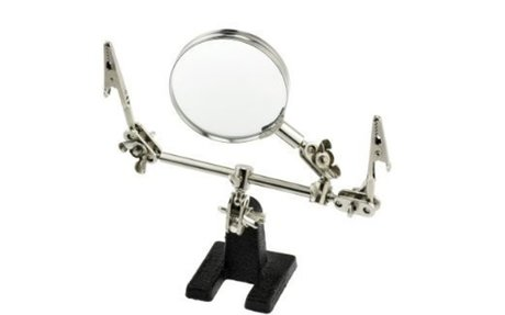 Amazon.com: SE MZ101B Helping Hand with Magnifying Glass: Home Improvement