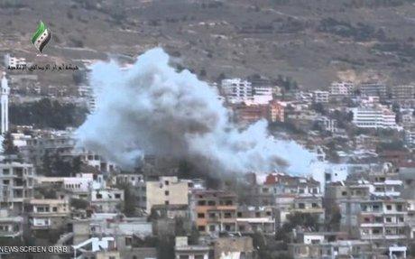 ميليشيات حزب الله تهاجم الزبداني لإخلائها من سكانها