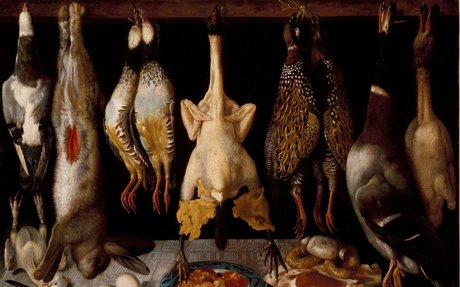Bodegón de aves y liebre - Colección
