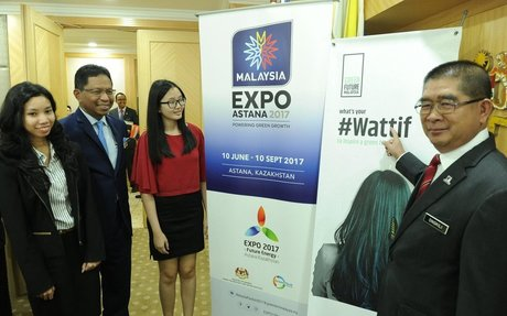 MINISTER ONGKILI INVITES ALL MALAYSIANS TO INSPIRE THE WORLD AT EXPO 2017