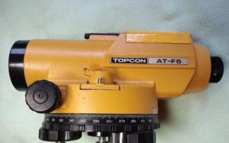Topcon AT-F6 automatic level calibration