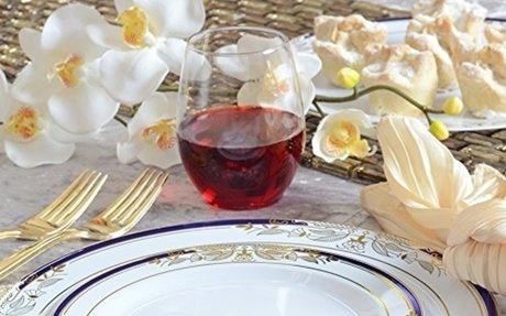 Heavy Duty Plastic Plates for Weddings and Parties