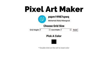 Pixel Art Project