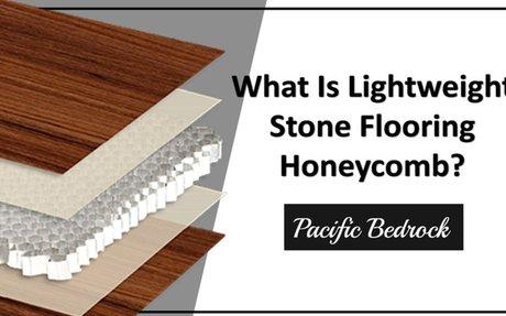 What is lightweight stone flooring honeycomb?