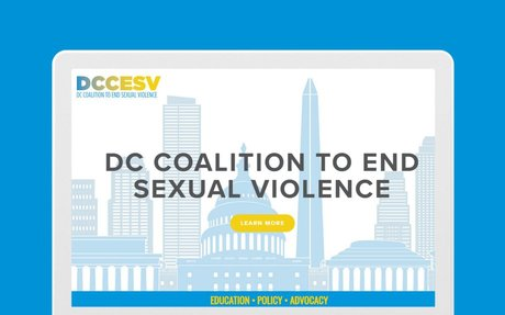 DC Coalition to End Sexual Violence Announces New Website