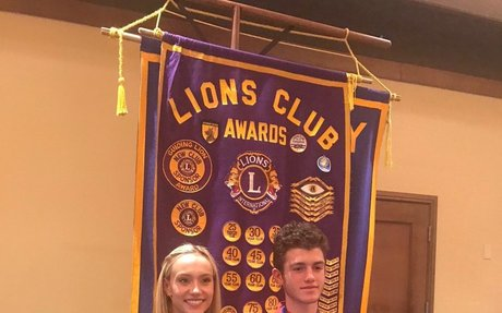 Lions Club Students of the Month