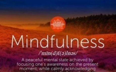 Mindfulness and Fibromyalgia