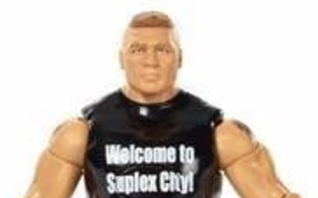 WWE Tough Talkers Brock Lesnar Action Figure