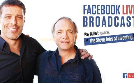 Tony Robbins interviews billionaire Ray Dalio - author of Principles