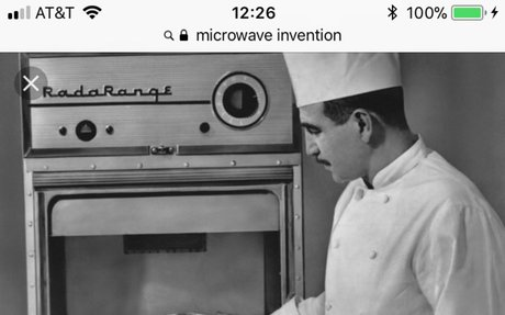 9.) Microwave Oven