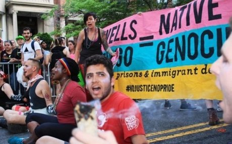 If you're offended by the #NoJusticeNoPride protest, you are a cultural idiot