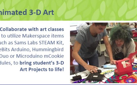Maker Space and Art Students