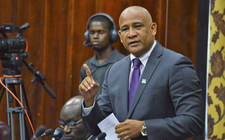 "Chastanet Dismisses Opposition's ""Childish Games"" | The St. Lucia STAR"