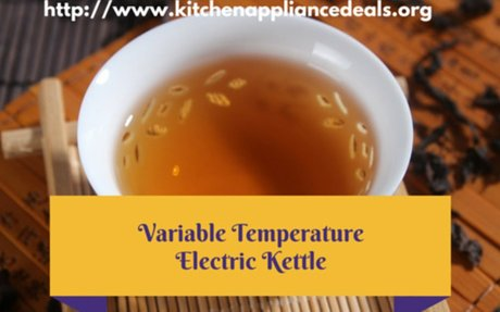 Best Electric Tea Kettle With Temperature Control To Buy | Kitchen Appliance Deals