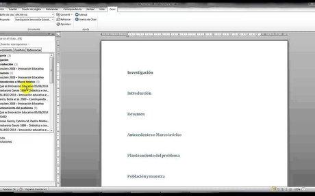Como Insertar las fuentes y citas en su trabajo de Word