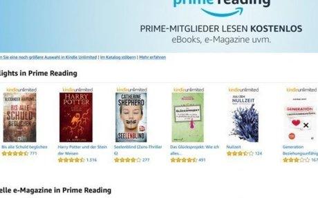 Prime Reading: Fließender Übergang zur zweiten Welle