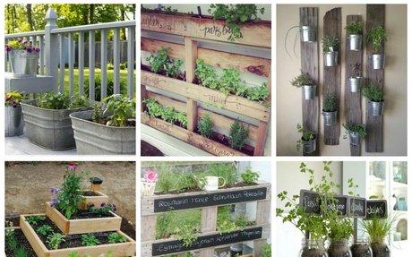 Inspirációk fűszerkertekhez - Színes Ötletek