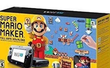 Amazon.com: Super Mario Maker Console Deluxe Set - Nintendo Wii U: Video Games