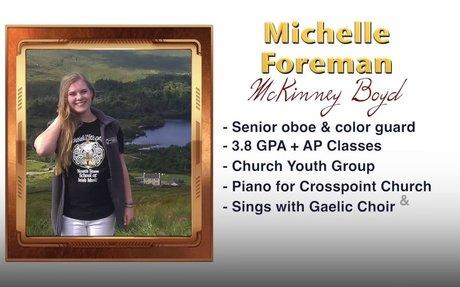 Scholar Artist of the Week - Michelle Foreman