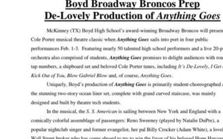 Bronco Beat Volume 12, Issue 19