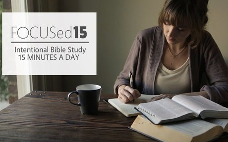 FOCUSed15 Bible Studies