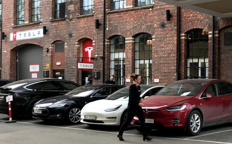Elon Musk Predicts Tesla Driverless Taxi Fleet Next Year