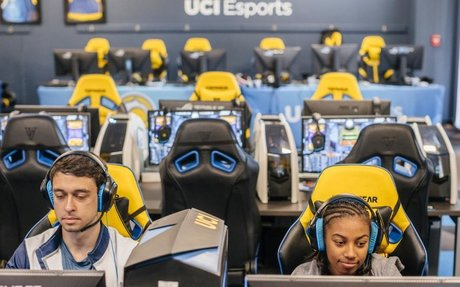 Colleges are helping students start careers in esports