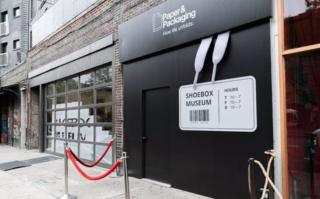 DESIGN // The Shoebox Museum Celebrates Sneakerhead Packaging
