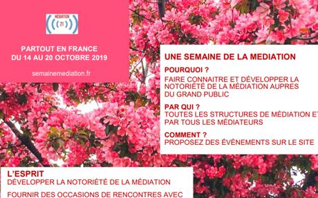 La semaine mondiale de la médiation en France