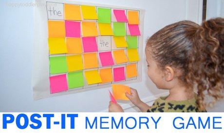 Post-it Memory Game