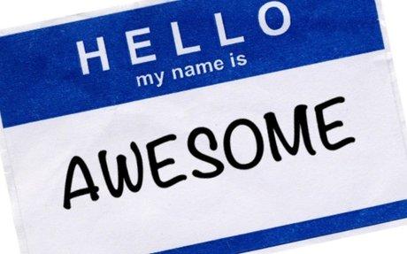 My name
