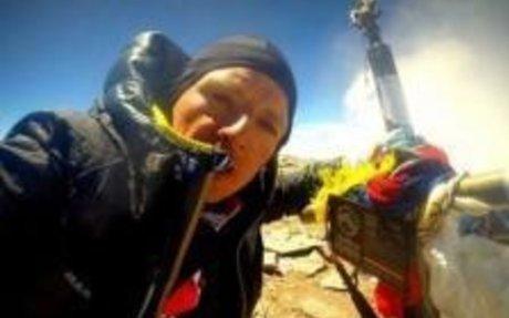 Karl Egloff logró un récord en Perú y se prepara para el desafío de la paternidad