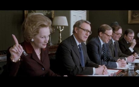 The Iron Lady Official Trailer