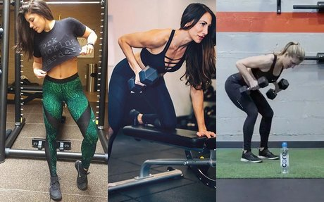 8 Photos That Prove Lifting Heavy Doesn't Make You 'Bulky'