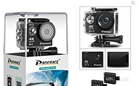 Amazon.com : DROGRACE WP350 Sports DV Camera Wifi Video Action Camera Waterproof 4K 60fps