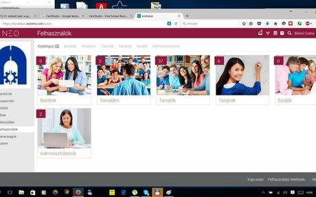 Informatika oktatás dokumentációs és nyilvántartó portál.