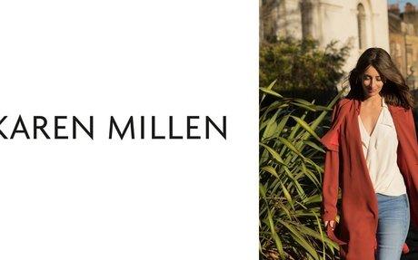 Your exclusive 15% off Karen Millen