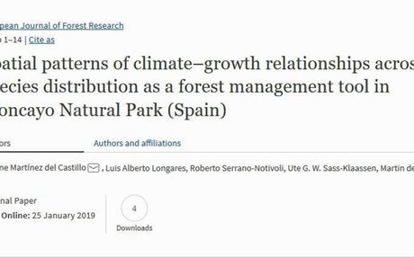 Spatial patterns of climate-growth relationships as a forest management tool